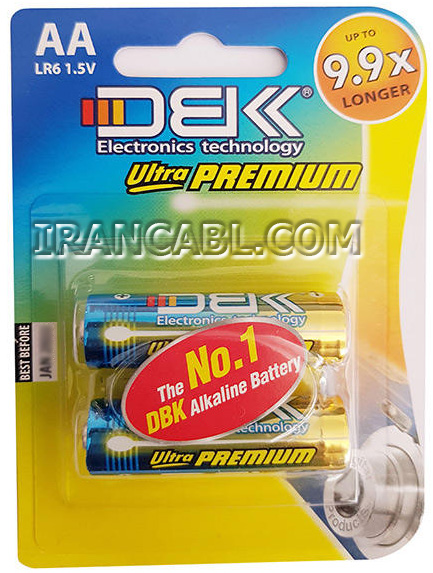 باتری قلمی دی بی کی AA سوپر آلکالاین ultra premium DBK
